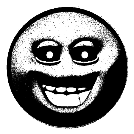 Creepy smiley