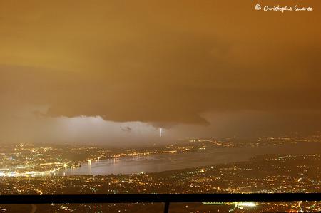 Недавняя буря в Женеве (Красотища)