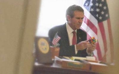 Тяжелые трудовые будни Буша