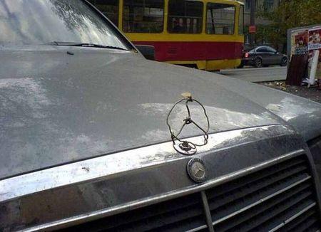 Автомобильный креативчеГ ;)))