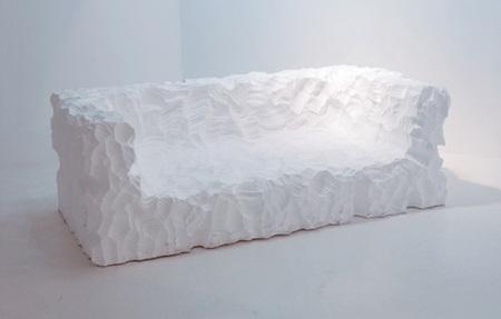 Пенопластовый диван