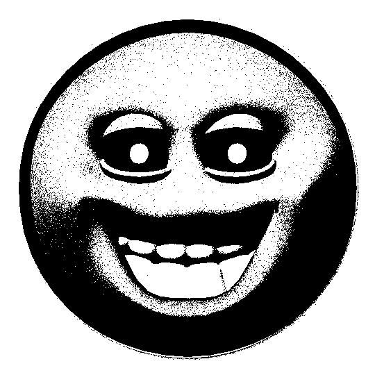 Creepy smiley