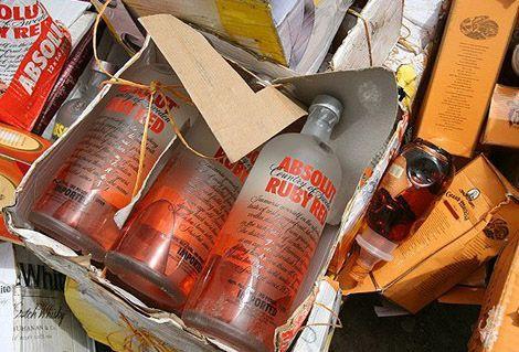 Как арабы уничтожают контрабандный алкоголь