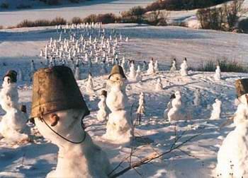 Снеговики наступают